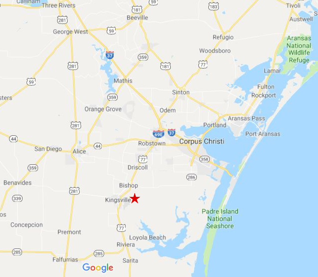 Map Of Texas Kingsville.Roll Off Containers Dumpsters In Kingsville Tx Big Box Waste